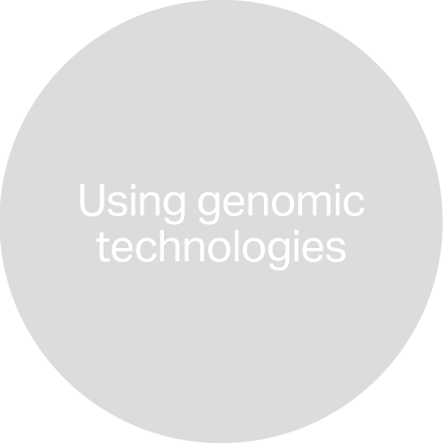 Using genomic technologies